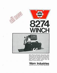 The History Of The Warn M8274 Winch