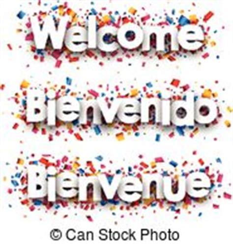 Bienvenue Vector Clipart Illustrations. 23 Bienvenue clip ...