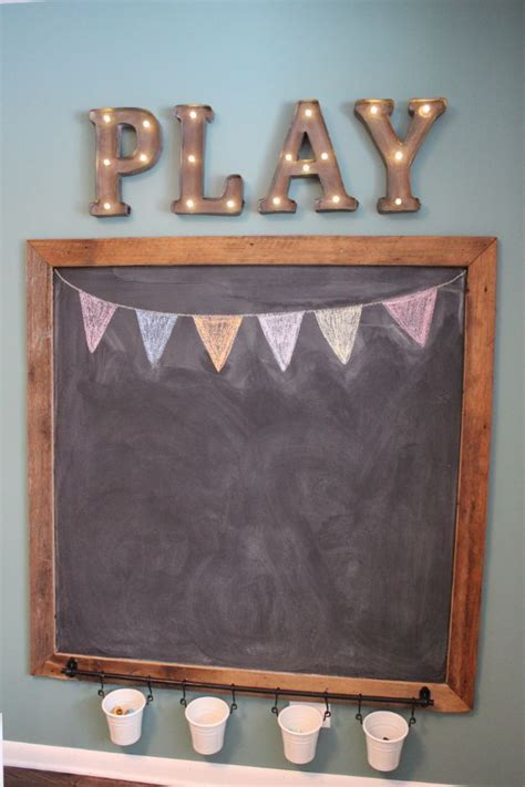 31 DIY Playroom Decor and Organization