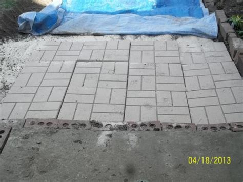 image gallery home depot brick pavers