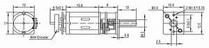 90 Rpm Micro Gear Motor W  Encoder