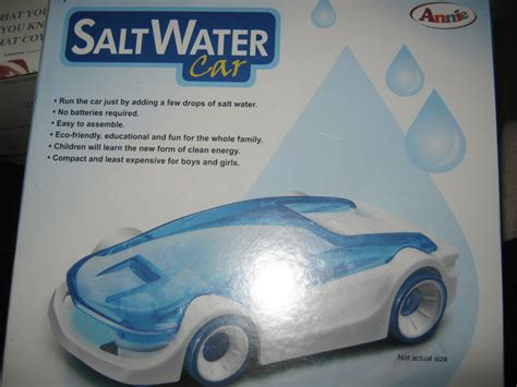 Introducing All New Salt Water Car That Run By Adding Salt