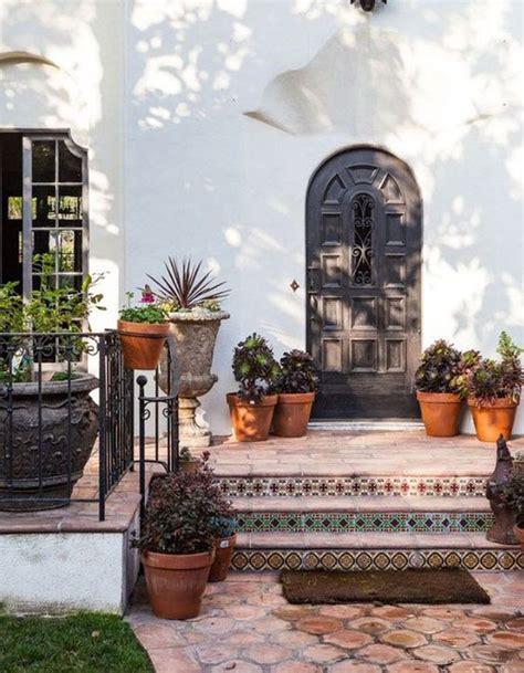decorez votre escalier exterieur pour  jardin plein de