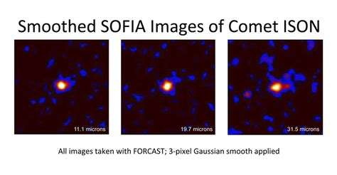 with a mission 4 sofia 39 s target of opportunity comet ison nasa