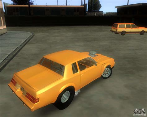 Buick Stock by Buick Gnx Pro Stock For Gta San Andreas