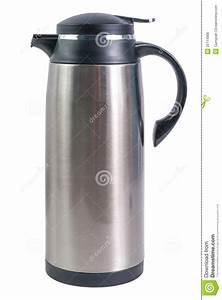 Thermo Flask For Hot Drinks Royalty Free Stock Image