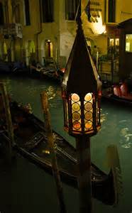 Canal Venice Italy at Night