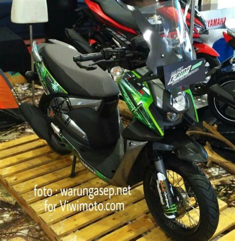 Modification Yamaha Xride 125 by Modifikasi Yamaha X Ride 125 Supermoto Keren Juga Sob