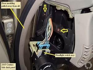 2001 Buick Century Headlight