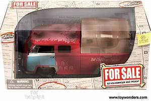 1963 Volkswagen Bus Pickup By Jada Toys For Sale 1  24 Scale Diecast Model Car Wholesale 91307
