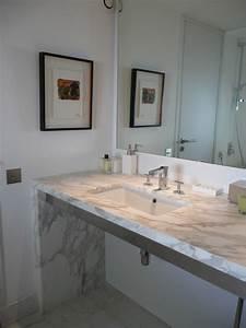 Marbre Salle De Bain : salle de bain en marbre 2018 avec les meilleures idaes de ~ Dailycaller-alerts.com Idées de Décoration