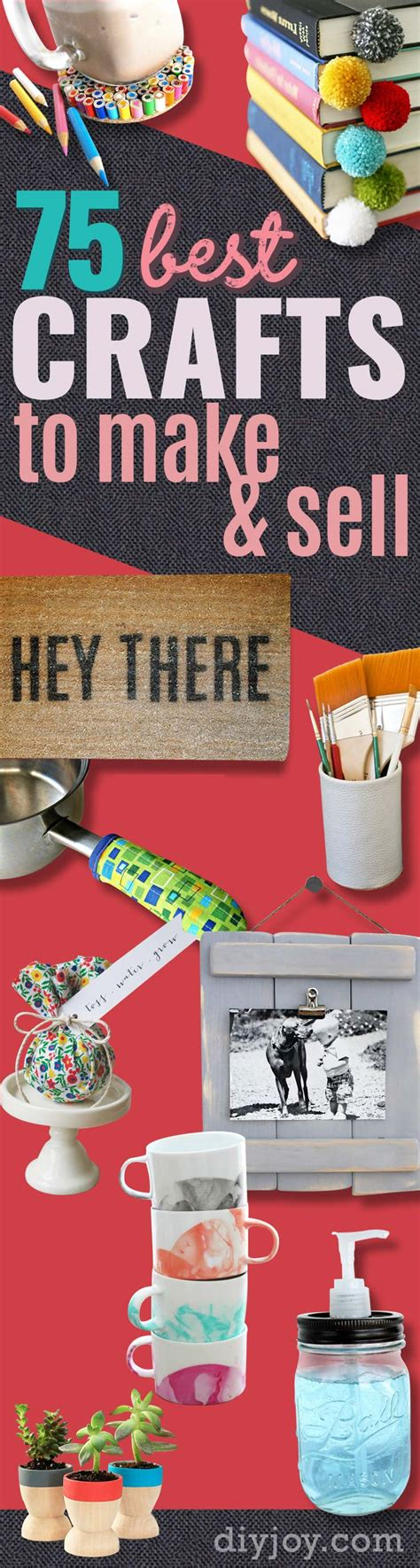 75 Brilliant Crafts To Make And Sell Diy Joy