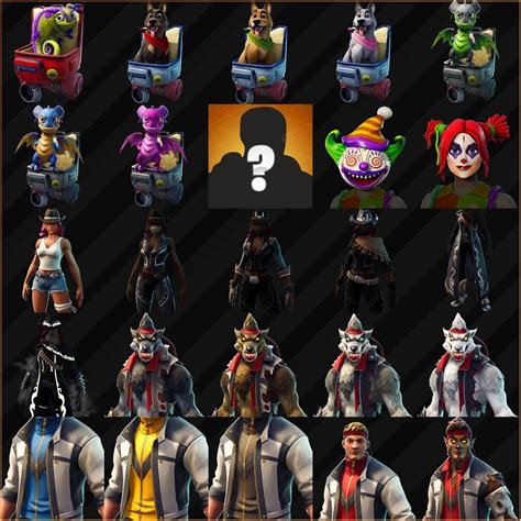 estas son todas las nuevas skins de la temporada  de fortnite