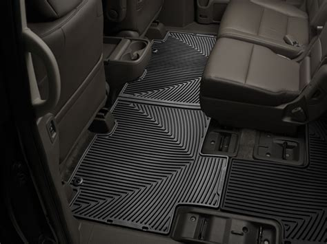 Honda Odyssey All Weather Floor Mats 2016 by Weathertech 174 All Weather Floor Mats For Honda Odyssey