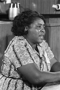 Remembering the Advoacy of Fannie Lou Hamer on Her ...