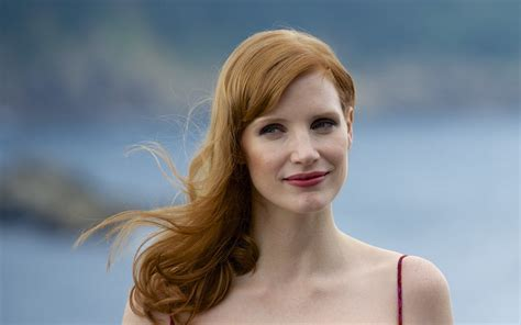Jessica Chastain, Women, Redhead, Actress, Face Hd