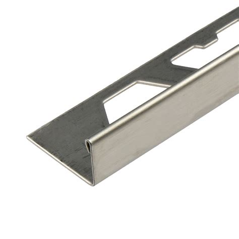 brushed stainless steel edge trim images