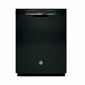 Ge Front Control Built-in Tall Tub Dishwasher In Black With Steam Prewash-gdf520pgjbb