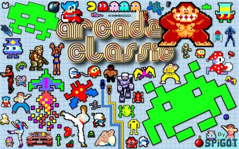 Free download Tags Classic Arcade Wallpaper [1440x900] for ...