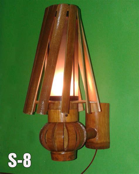 kerajinan lampu hias bambu tulisanviralinfo