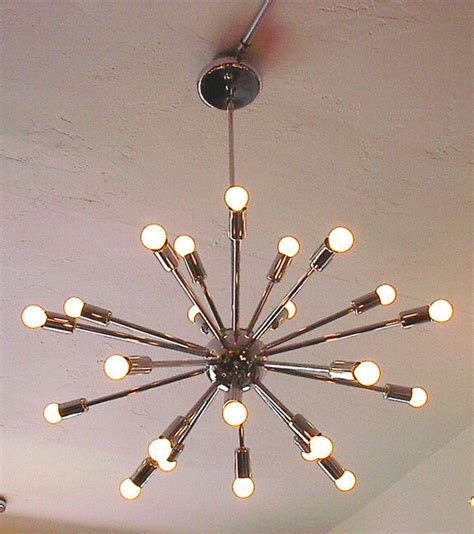 chrome sputnik chandelier sputnik starburst light fixture chandelier l chrome 24