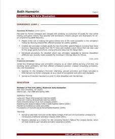 artist resume exles artist resume sles with high quality paper an artist resume might different from a regular