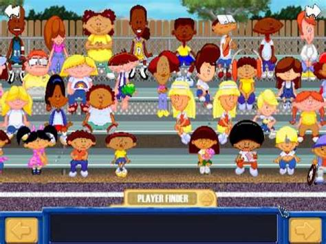 Backyard Football Characters - backyard basketball players theme