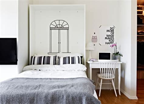 Bedroom Ideas For Small Square Rooms by Beautiful Small Apartment Only 36 Square Meters Home