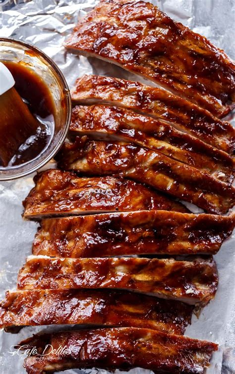 Slow Cooker Barbecue Ribs  Cafe Delites