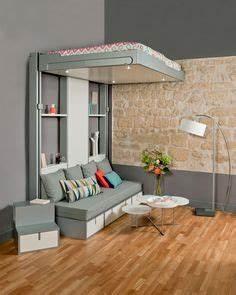 lits escamotables et lits mezzanines meubles gain de With nice meuble pour studio petite surface 4 lit escamotable gain de place