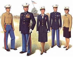 Uniforms of the US Marine Corps ~ Marine Corps