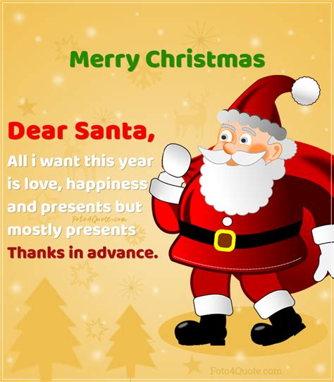 Christmas is the most awaited time of the year. Funny Christmas quotes - i want Presents   Foto 4 Quote