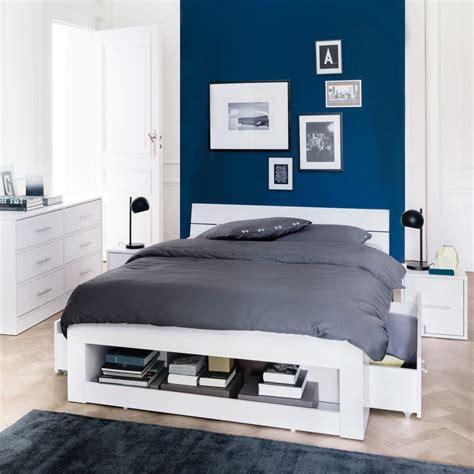 refaire chambre adulte deco peinture chambre bleu
