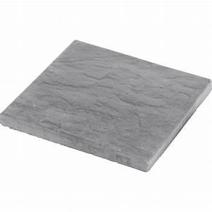 Dalles Beton Terrasse : dalle b ton nuancea gris ardois x cm x mm leroy merlin ~ Melissatoandfro.com Idées de Décoration