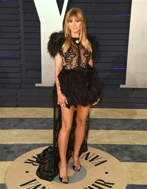 Oscars Style File Heidi Klum Does The After Parties