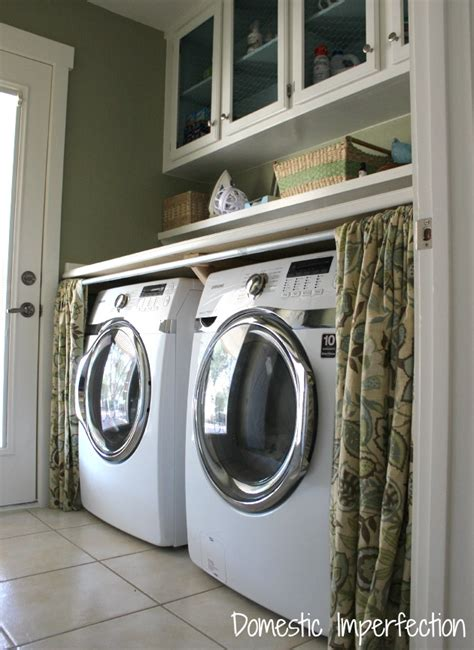 curtains white and black 25 small laundry room ideas home stories a to z