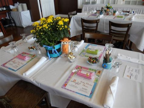 baby shower table setting ideas owl themed baby shower table setting baby shower ideas pinterest