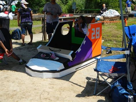 Cardboard Boat Hacks by 13 Best Soggy Bottom Boat Race For Hume Images On