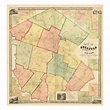 '1856, Sullivan County 1856 Wall Map, New York, United ...
