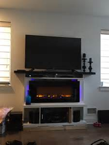 Fireplace with Mantel Surround