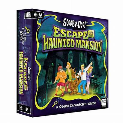 Scooby Doo Haunted Mansion Escape Board Coded