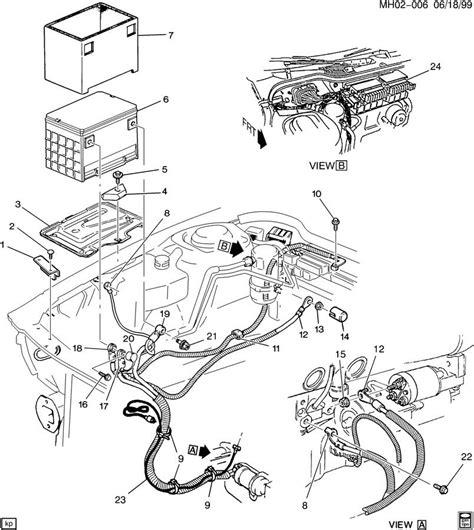 Buick Lesabre Cable Battery Positive Bat Pos