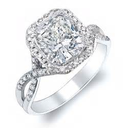 wedding ring cuts cushion cut cushion cut engagement ring settings
