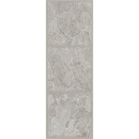 vinyl flooring 12 x 36 trafficmaster allure 12 in x 36 in shale grey luxury vinyl tile flooring 24 sq ft case