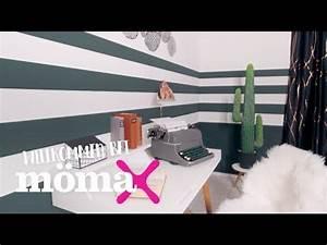 Wand Stellenweise Streichen : w nde streichen wandgestaltung mit streifen m max beratung youtube ~ Watch28wear.com Haus und Dekorationen