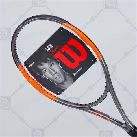 wilson burn  countervail tennis racket  unstrung aneelsports