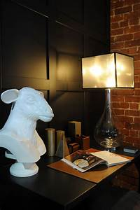 The, Sleek, Mesh, And, Glass, Droplet, Lamp, Amongst, This, Eclectic, Study, Space
