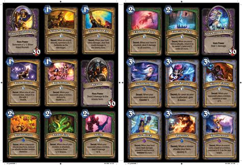 prophet velen deck tgt hearthstone card database