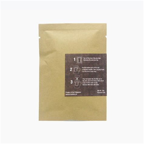 Now you know how to make drip coffee like a pro! Drip Coffee Bag 10g - ECHOstore - Sustainable Lifestyle