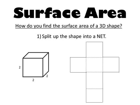 Surface Area Geometry Volume  Ppt Video Online Download